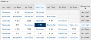 Read more about the article Vols pour Riga en septembre pour 91€ A/R